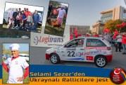 Türk rallicinin elinden birbirinden lezzetli yemekler, Selami Sezer'den Ukraynalı sporseverlere sıra dışı jest (video)