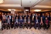 TUİD'den Kiev Büyükelçisi Yönet Can Tezel'e veda yemeği