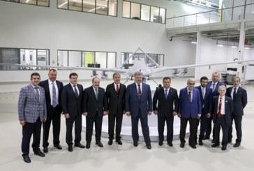 Ukrayna Devlet Başkanı Poroşenko, Türkiye'deki İHA tesislerini ziyaret etti