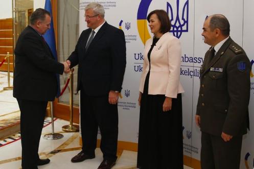 Ukrayna Silahlı Kuvvetlerinin kuruluşunun 27. yıl dönümü Ankara'da kutlandı 'stratejik ortağımız Türkiye'ye minnettarız'