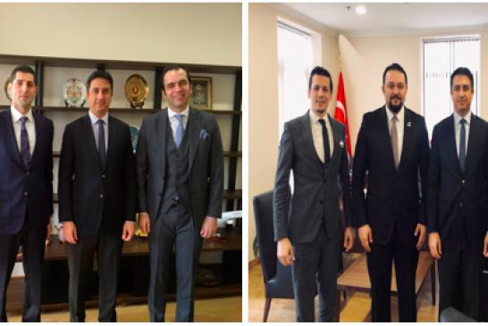 Sivil toplum kuruluşlarının temsilcileri Büyükelçi Güldere'yi ziyaret etti