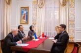 Türkiye'nin yeni Ukrayna Büyükelçisi güven mektubunu sundu, görüşmede iki ülke ilişkileri ele alındı