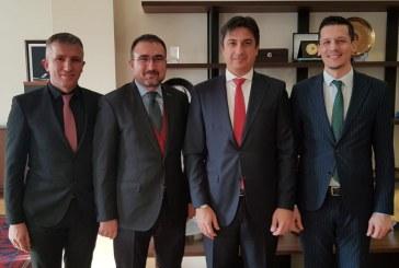 EkoAvrasya'dan, Kiev Büyükelçisi Yağmur Ahmet Güldere'ye ziyaret