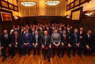 Dışişleri Bakanı Çavuşoğlu Odesa'da Türk vatandaşları ile bir araya geldi