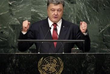 Devlet Başkanı Poroşenko'dan flaş talep, 'Rusya sınırına BM barış gücü konuşlandırılsın'