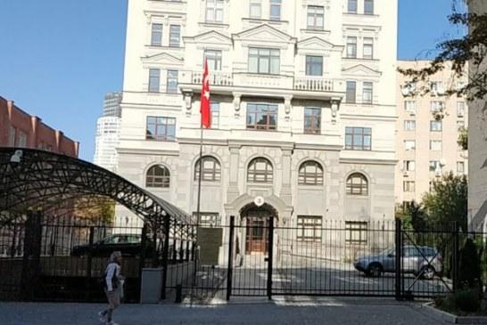 Kiev Büyükelçiliği'nde 18 Mart anma töreni