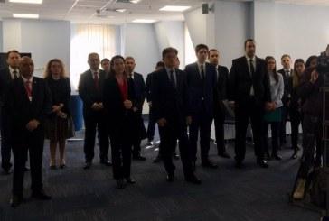 Çanakkale Şehitleri Kiev Büyükelçiliği'nde düzenlenen törende anıldı