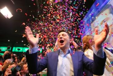 Ukrayna'da seçimin galibi Volodymyr Zelenski