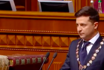 Volodymyr Zelenski'nin yemin töreni (İngilizce – Ukraynaca / video)