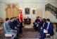 Cumhurbaşkanı Yardımcısı Fuat Oktay, Kiev'de iş insanları ile bir araya geldi, görüşmeden notlar