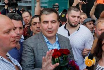 Saakaşvili Ukrayna'ya döndü, 'yeni bir atılım yapmak istiyorum'