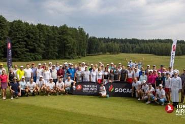 Türk Hava Yolları Dünya Golf Kupası'ın Kiev etabı gerçekleşti