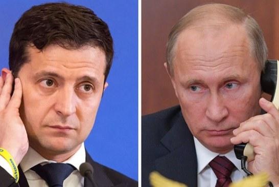 Zelenskiy – Putin telefon görüşmesi gerçekleşti; işte gündem
