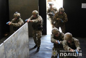 KORD ve Amerikan SWAT timlerinden Boryspil Havaalanı'nda tatbikat