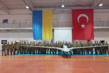 Savunma alanında işbirliği meyvelerini veriyor, Ukrayna askerlerinin Bayraktar eğitimi tamamlandı