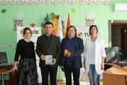 Ukrayna'da THY ve iş insanlarından çocuk yuvasına bilgisayar desteği