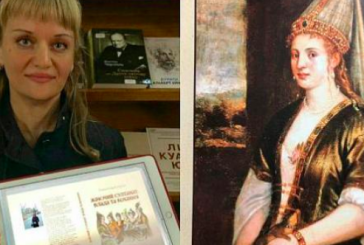 Hürrem Sultan'ın Ukraynalı yazarı Oleksandra Şutko, 6 güçlü Osmanlı kadınını bir kitapta topladı