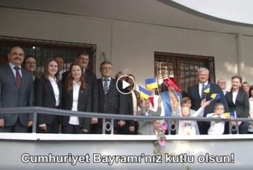 Ukrayna Büyükelçiliği'nden unutulmaz video, Büyükelçilik çalışanları 29 Ekim Cumhuriyet Bayramı'nı Türkçe kutladılar (video)