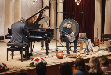 Ukrayna'nın başkenti Kiev'de Türk ezgileri, Burhan Öçal'dan unutulmaz konser