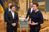 Ünlü aktörü Tom Cruise Kyiv'e geldi