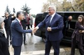 Ukrayna'nın Ankara Büyükelçisi Andrii Sybiha Zonguldak'ta temaslarda bulundu