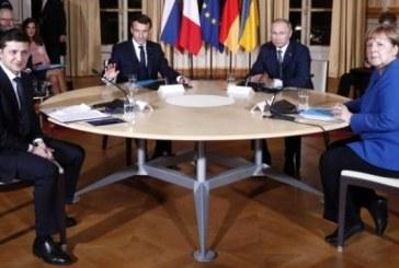 """Dört lider, yıl sonuna kadar Ukrayna'nın doğusunda """"tam ateşkes"""" konusunda anlaştı"""