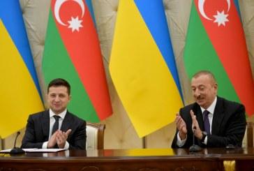 Zelenski'nin Azerbaycan temasları, 'Socar Ukrayna'daki faaliyetlerini genişletecek'