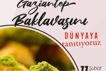 Bu haber lezzet tutkunlarına, Gaziantep Baklavası Kiev'de tanıtılacak