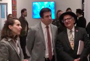 Türk ressamlardan Ukrayna'ya çıkarma, 'Türkiye'den Çağdaş Sanat' sergisi Kiev'de açıldı