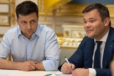 Devlet Başkanı'ndan kritik karar, Andriy Bohdan görevinden alındı