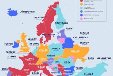 Ukrayna ve Türkiye'de en fazla kullanılan soy isimler hangileri?