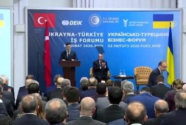 Zelenskiy, Türk iş dünyasını Ukrayna'ya yatırım yapmaya çağırdı