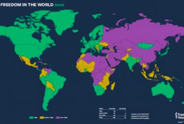 '2020 yılı Özgürlük Endeksi'; Ukrayna iki basamak yükseldi ama hala 'kısmen özgür' ülke