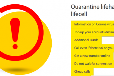 Mobil operatör lifecell'den 'karantina günlerine' özel